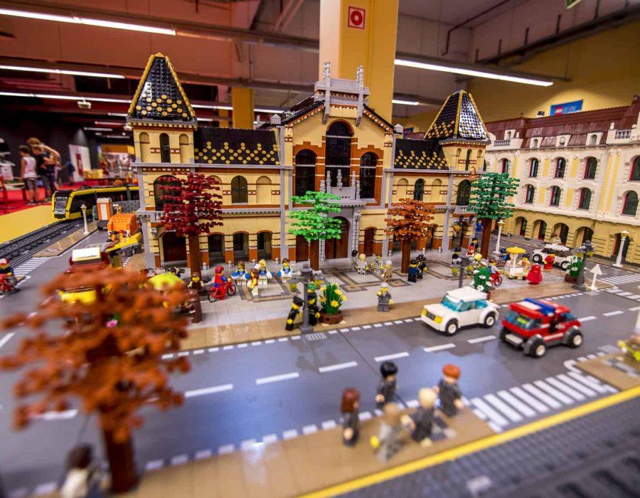 Lego város