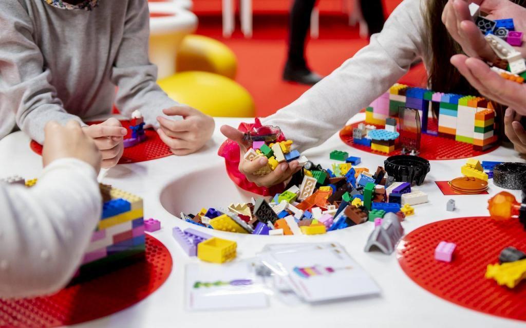 lego játszóház kockapark