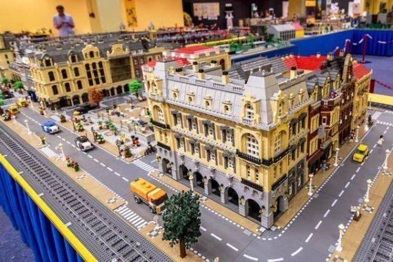 lego kiállítás élményközpont