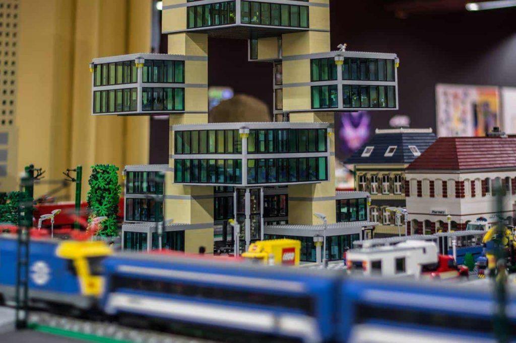LEGO terepasztal
