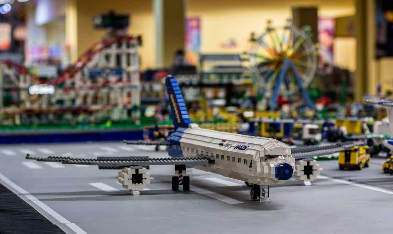 LEGO repülőtér