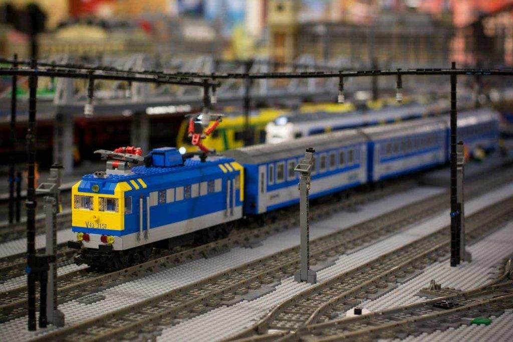 LEGO Technic railroads
