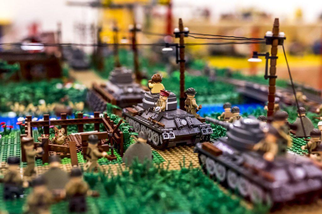 II. világháborús jelenet