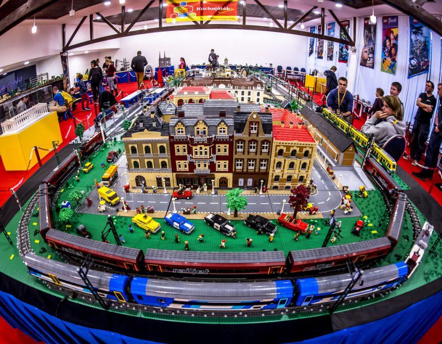 LEGO installation