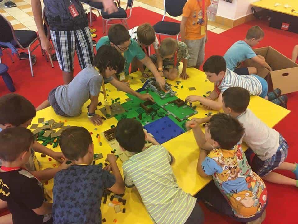 LEGO tábor 2018