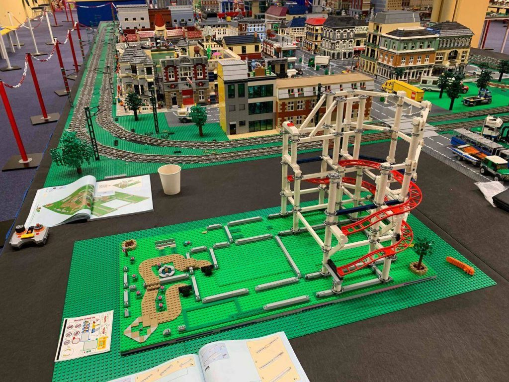 LEGO amusement park building