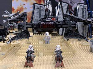star wars lego kiállítás